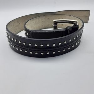 Michael Kors leather belt Brown size small X 401